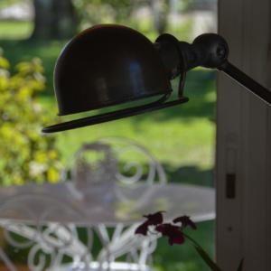 intérieur-extérieur terrasse villa hélianthe - photot tête en Leyre