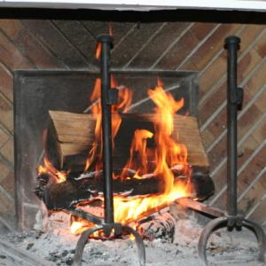 la cheminée