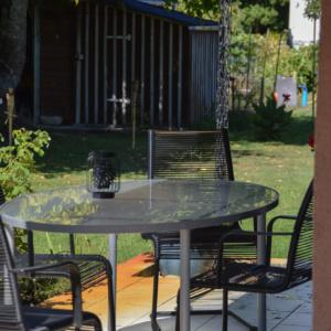 coin de terrasse villa hélianthe- photo tête en Leyre